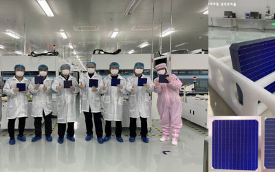 Exceeded expectations! HuaSun 500MW HJT solar cell was officially put into production, and the highest cell efficiency in the first week of trial production reached 24.39%.