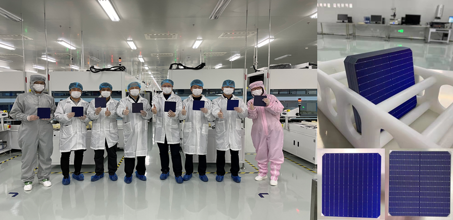 热烈祝贺我公司异质结电池、组件项目正式投产!